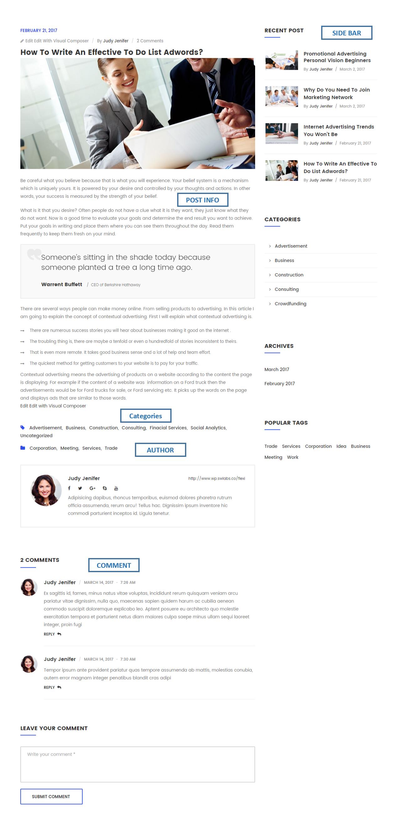 Flexi - Multipurpose Business & Corporate WordPress Theme